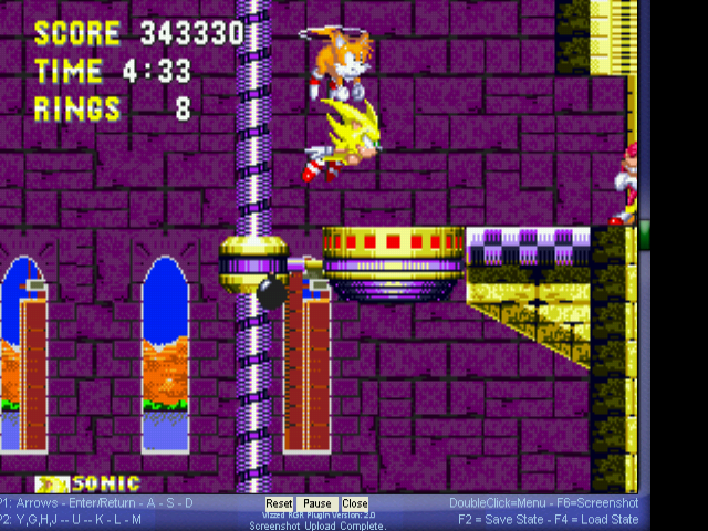 Sonic the Hedgehog 3 - no - User Screenshot
